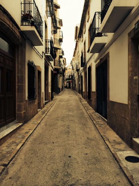 Javea, oude stad